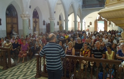 Half-day lent retreats in four different parishes (Cuba)
